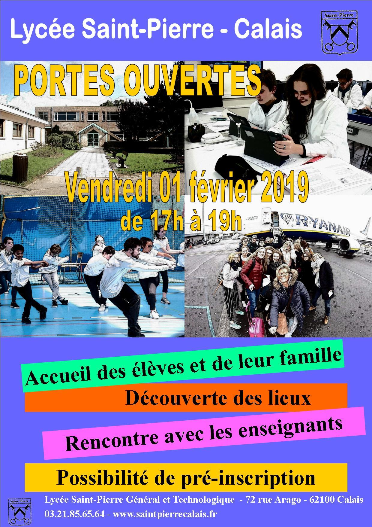 Centre Scolaire Saint Pierre Portes Ouvertes