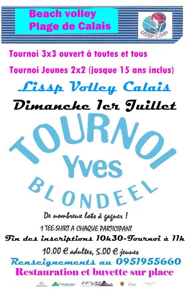 affiche beach 2018 blondeel 2