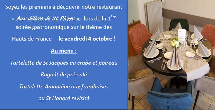 Facebook menu du 04 octobre